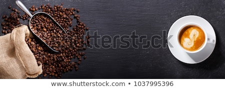 espresso and beans stock photo © toaster