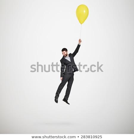 balloon businessman stock photo © blamb