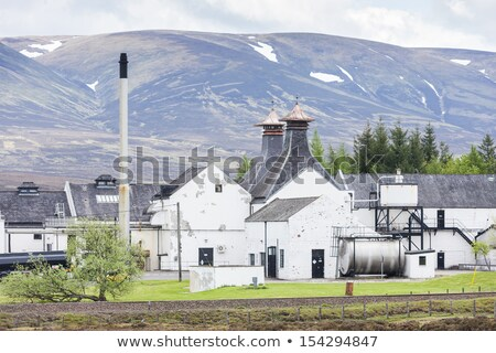 Dalwhinni Distillery, Inverness-shire, Scotland Stock photo © phbcz