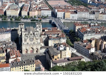 kilise · iç · hannover · Almanya · taş - stok fotoğraf © meinzahn