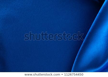Deep blue satin texture Stock photo © daboost