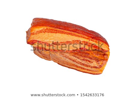 Foto stock: Two Pieces Bacon