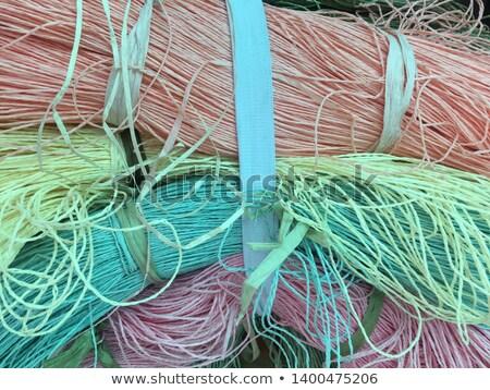 Multi Colored Knitting Yarn Stock photo © zhekos