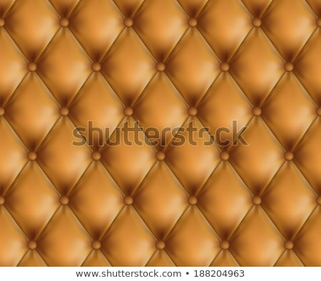 vector brown leather upholstery background  Stock photo © freesoulproduction
