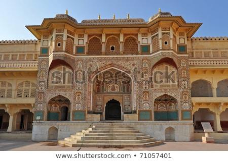 Cidade palácio complexo centro rosa asiático Foto stock © faabi