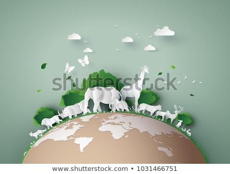 Animal protection Stock photo © burakowski