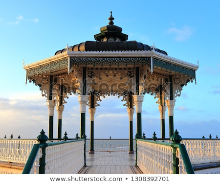 Brighton beach in winter Stock photo © dutourdumonde
