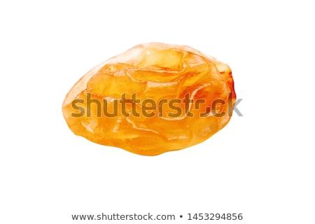 レーズン 孤立した 白 暗い 食べる 白地 ストックフォト © EwaStudio