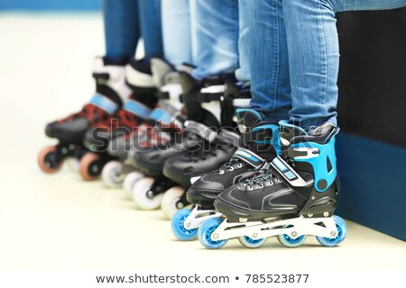 Roller skates for rolling sport Stock photo © LoopAll
