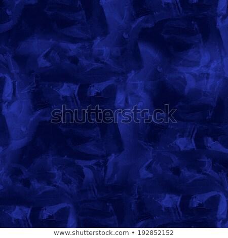 sötét · kék · vászon · textúra - stock fotó © heliburcka