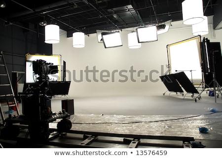 Interni film studio tecnologia industria fotografia Foto d'archivio © bmonteny