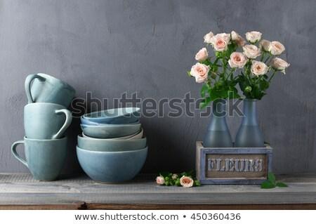 Stock fotó: Vidék · konyha · csendélet · fogzománc · tej · konzerv