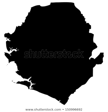 Map of Sierra Leone Stock photo © mayboro1964