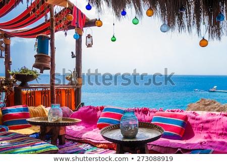 Egipt plaży osoby karty Zdjęcia stock © stevanovicigor