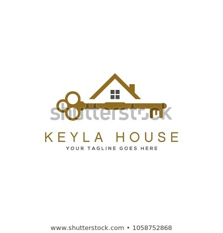 house with key logo stock photo © anna_leni