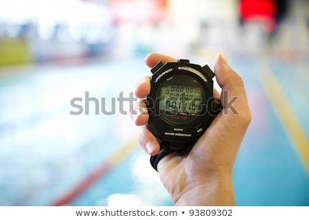 swimming time stock photo © lightsource
