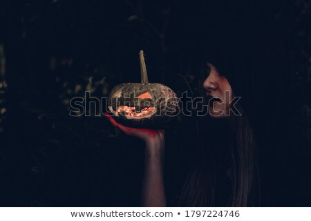 naughty halloween stock photo © kentoh