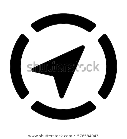 GPS navegación icono móviles servicios Foto stock © WaD