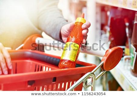 辣椒 · 醬 · 香醋 · 甜 · 盤 · 食品 - 商業照片 © digifoodstock