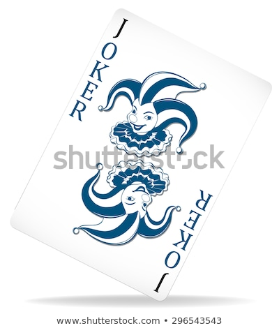 PLain joker with original design Stock photo © bluering