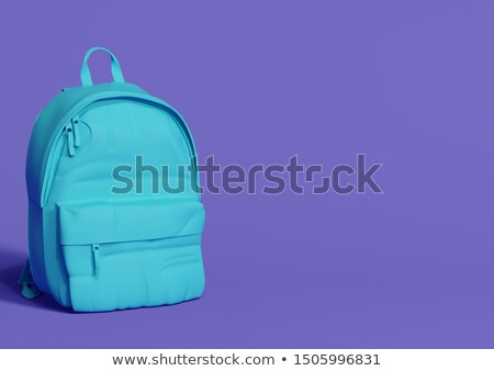 Single zip in purple color Stock photo © bluering