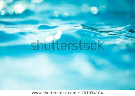 clear blue pool water abstract background stock photo © njnightsky