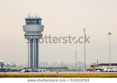 Radar Tower at an Airport Stock photo © Frankljr
