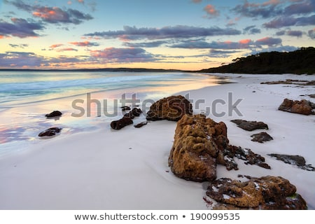 Amanecer Australia hermosa océano nubes paisaje Foto stock © lovleah