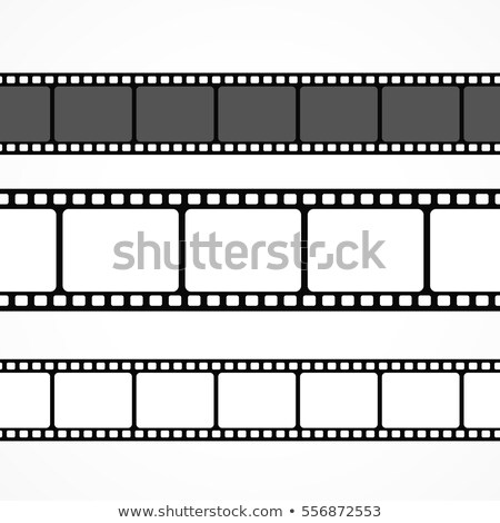 vector film strip collection in different sizes Stock photo © SArts