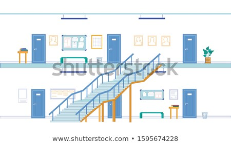 Architecture design for two storey building Stock photo © bluering