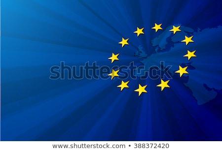 Эстония евро флаг Сток-фото © soup22