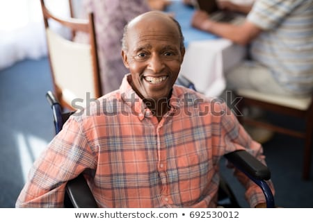 Portrait of senior man with receding hairline Stock photo © wavebreak_media