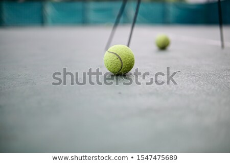 Vue fluorescent jaune tennis Photo stock © wavebreak_media