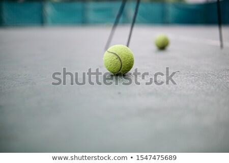 tl · Geel · tennis - stockfoto © wavebreak_media