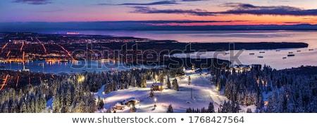 スキー · リゾート · 1泊 · アルプス山脈 · イタリア · 建物 - ストックフォト © is2