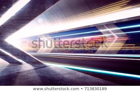 Snelheid stedelijke tunnel rijden Stockfoto © ssuaphoto