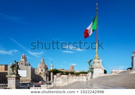 лестница дворец Рим лет день Италия Сток-фото © Givaga