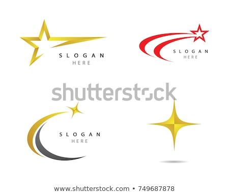 csillag · logo · szimbólum · siker · győzelem · rang - stock fotó © meisuseno