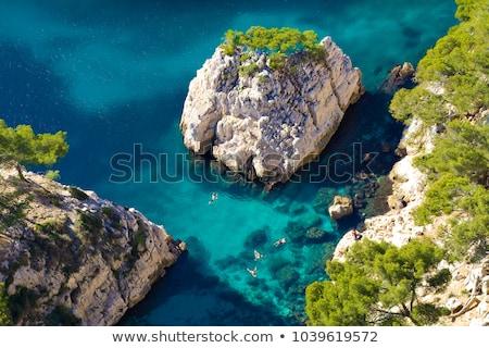 Франция Маяк лет небе воды Сток-фото © Ionia
