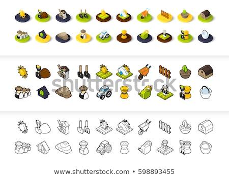 Ikon különböző stílus vektor szimbólum skicc Stock fotó © sidmay