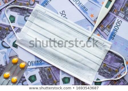 Pillola ricca medicina abbondanza tablet soldi Foto d'archivio © popaukropa