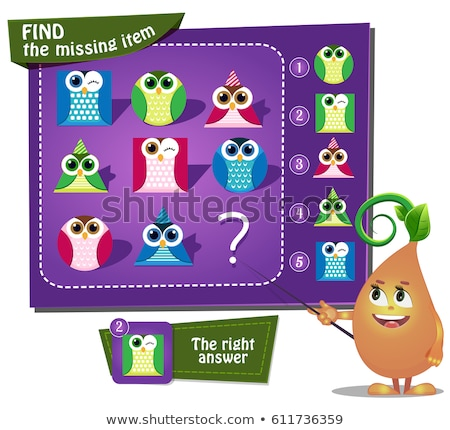 Find the missing item circle iq Stock photo © Olena