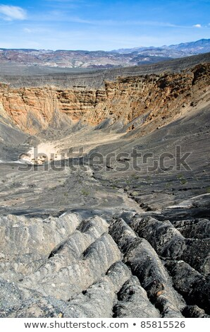 Ubehebe Crater, Death Valley National Park, California, USA. Stock photo © yhelfman