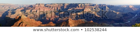 Wide view of the Grand Canyon South Rim in Arizona  Stock photo © tab62