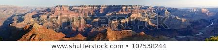 Grande ver Grand Canyon sul Arizona Foto stock © tab62