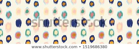Absztrakt művészi kreatív indiai kör háttér Stock fotó © pathakdesigner