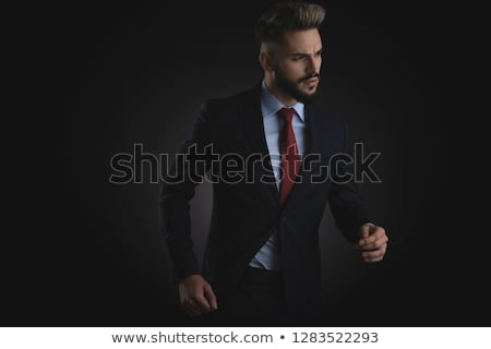 portrait of smart casual man in awe looking to side Stock photo © feedough