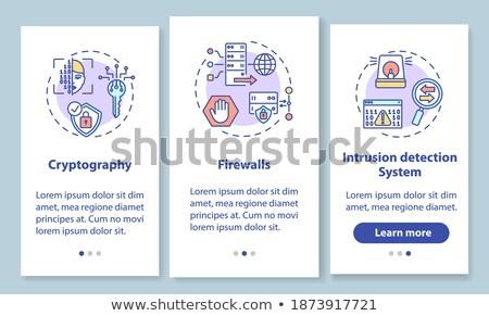 titkosítás · tiszt · adminisztrátor · készít · algoritmus · kód - stock fotó © rastudio