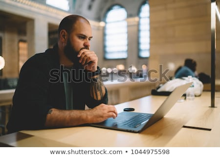 Online Courses with Page and Files for Education Stock photo © robuart