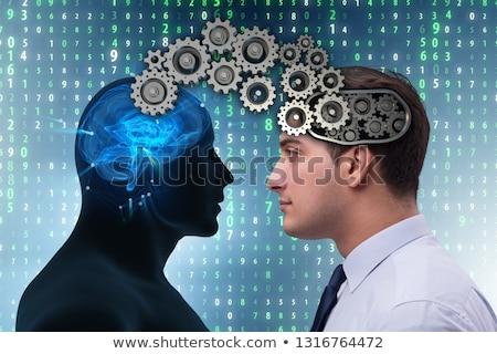 kognitív · számítástechnika · jövő · technológia · üzletember · üzlet - stock fotó © elnur